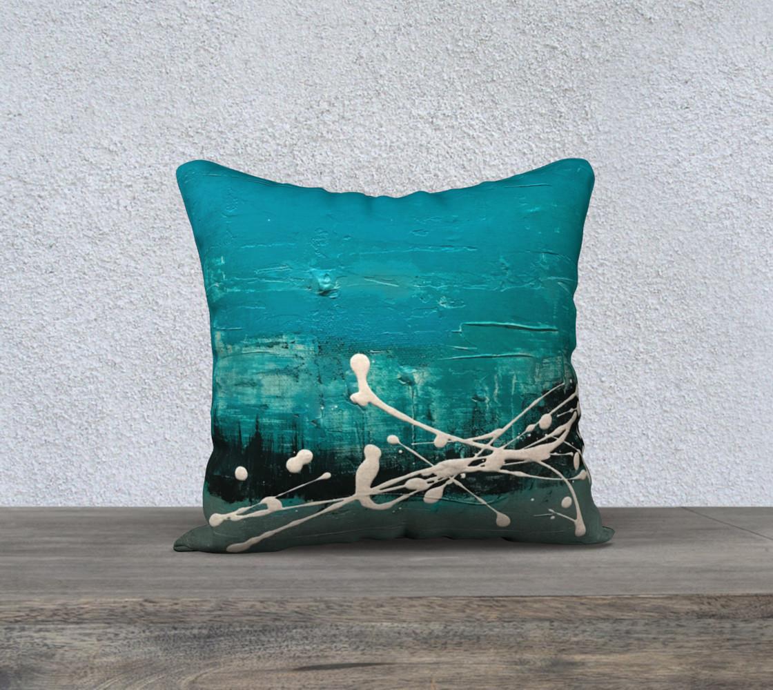 Matt LeBlanc Art Pillow - 012 - 18x18 preview #1