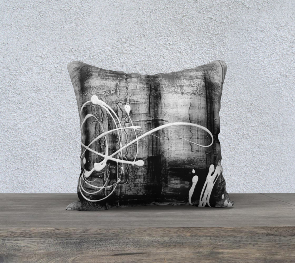 Matt LeBlanc Art Pillow - 014 - 18x18 preview #1