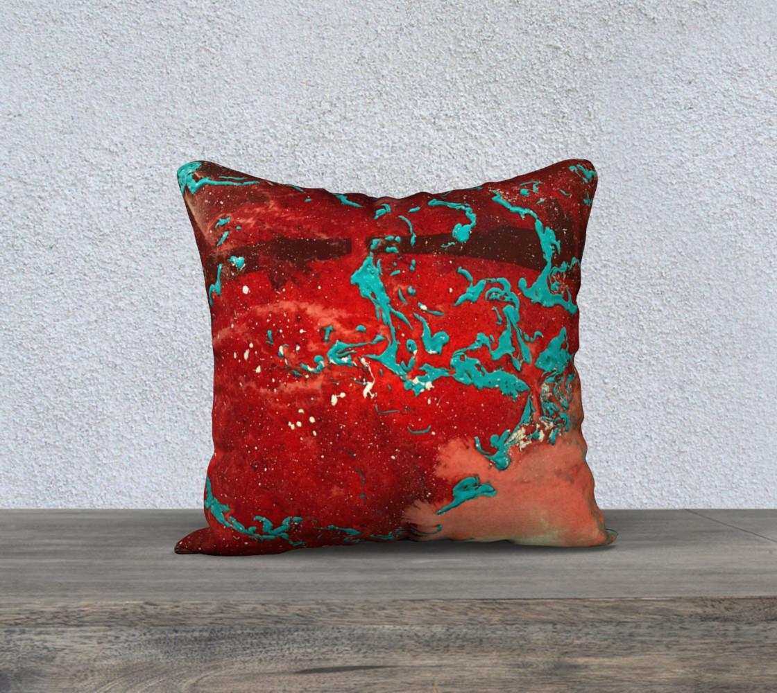 Matt LeBlanc Art Pillow - 015 - 18x18 preview #1