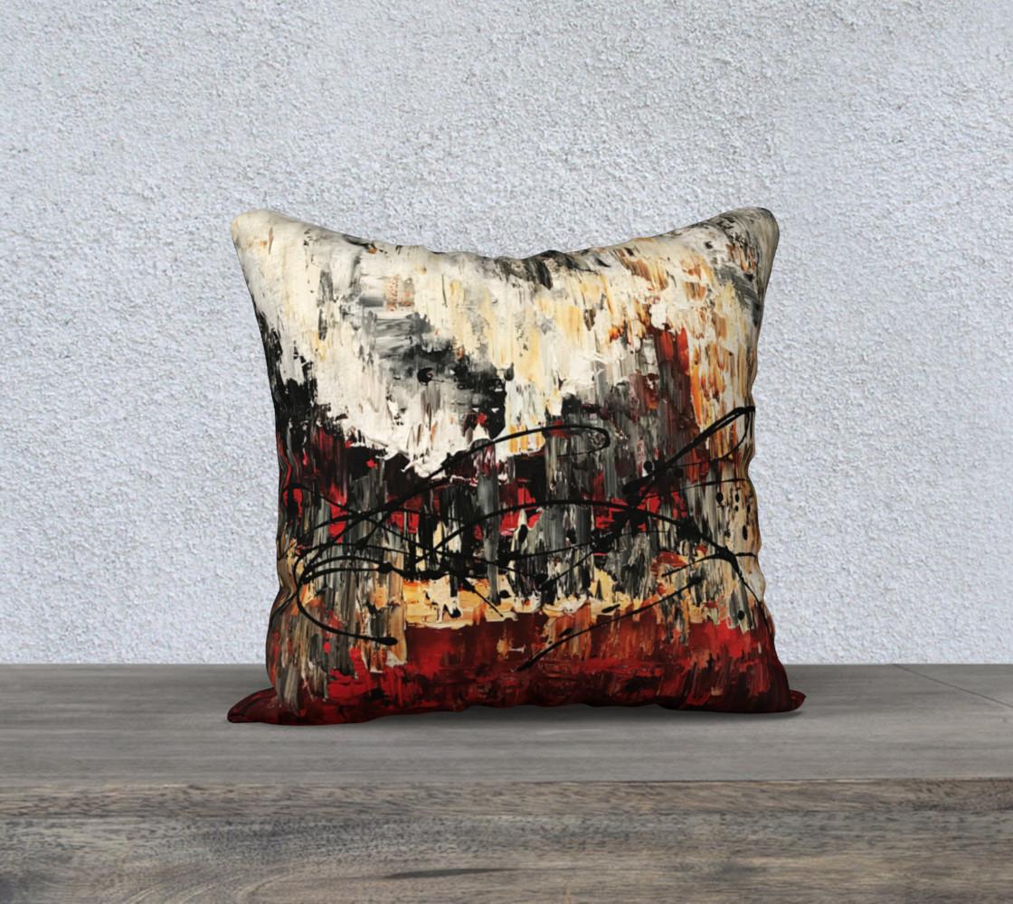 Matt LeBlanc Art Pillow - 017 - 18x18 preview #1