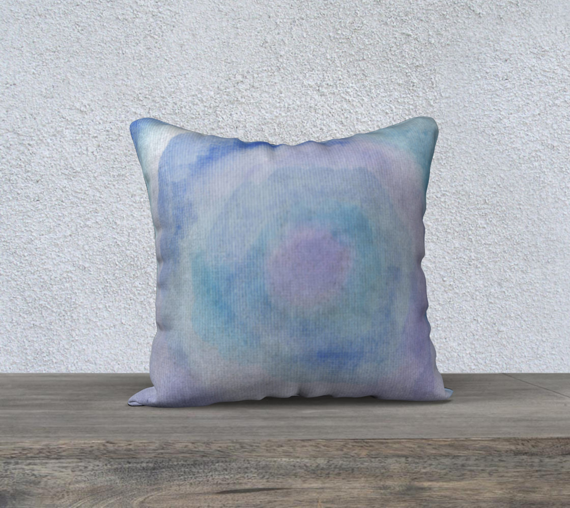 Blue Rose Dance Pillow Case Style1 preview #1