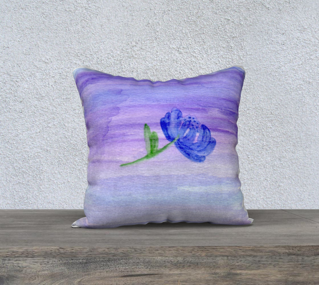 Mum Flower Pillow Case Style1 preview #1