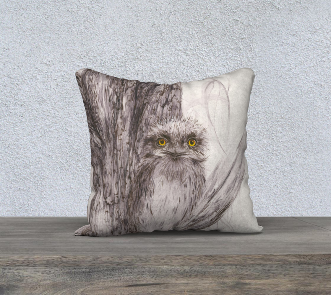Tawny Frogmouth 1 3D preview