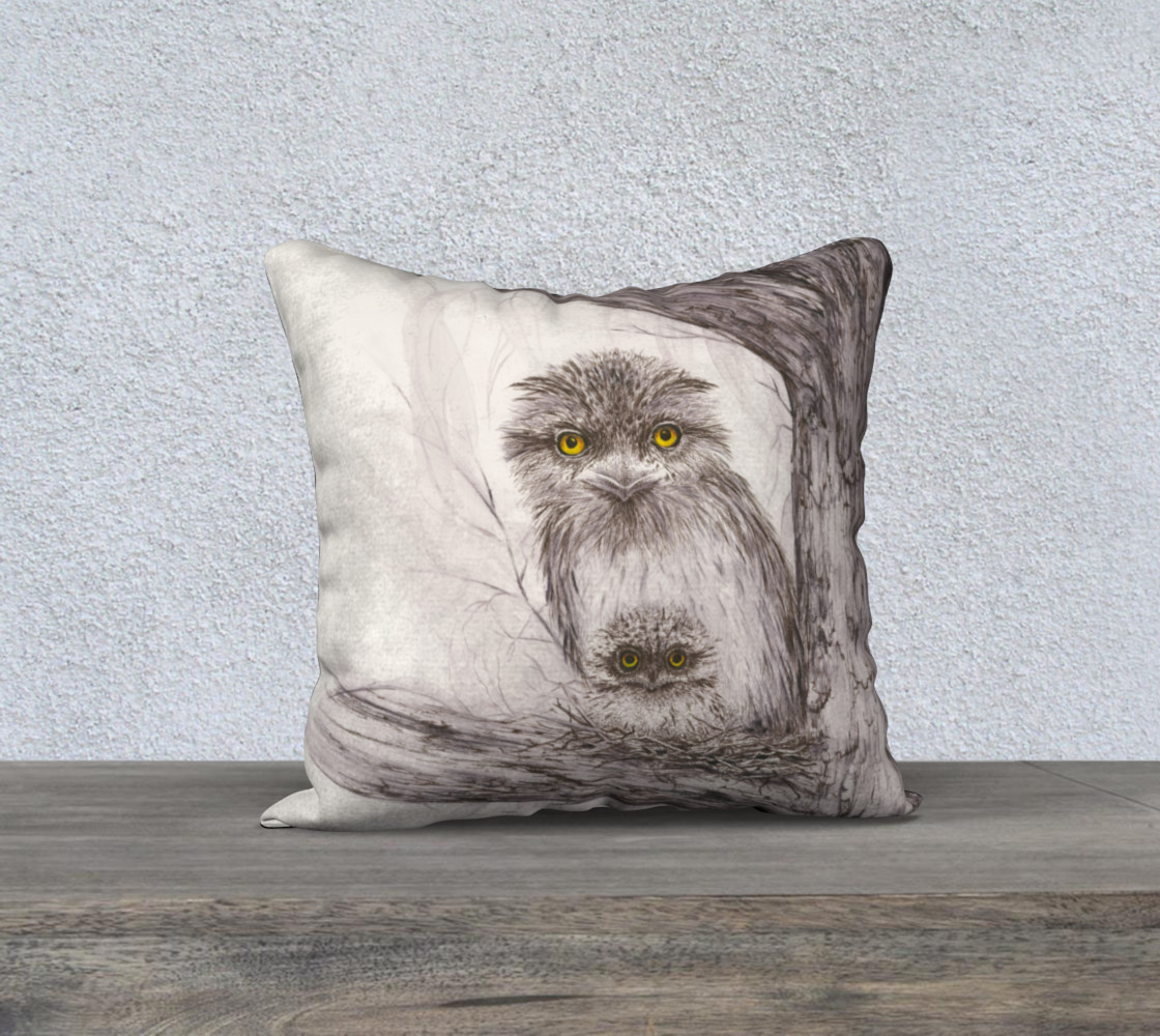 Tawny Frogmouth 2 Miniature #2