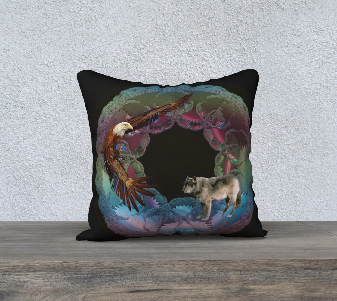 Ode to Nature Pillow preview #1