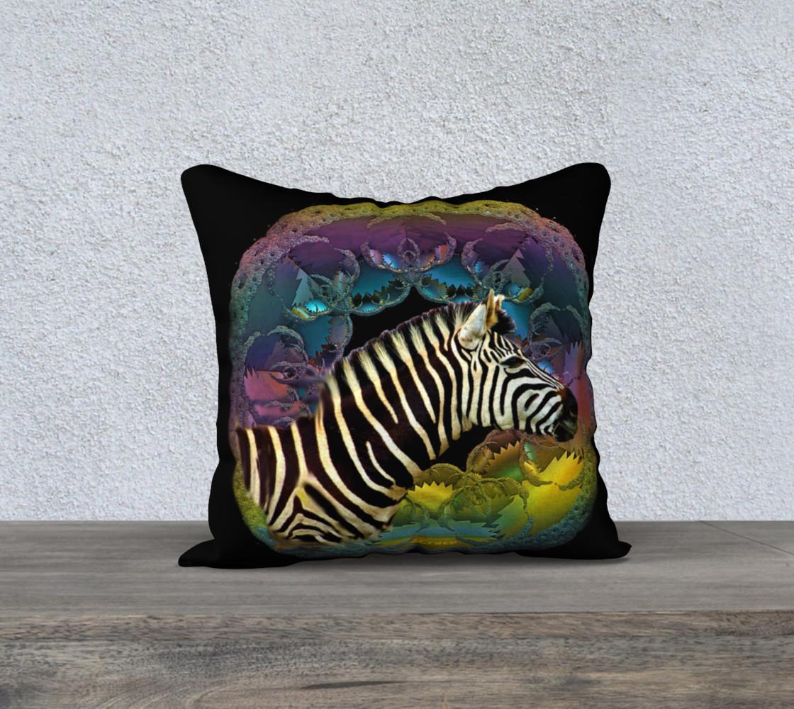 Zebra Pillow preview #1