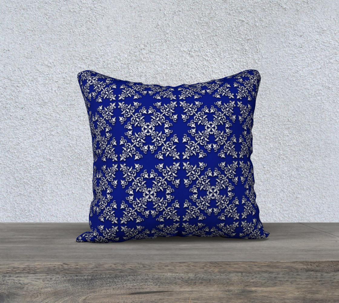 Aperçu de Baroque floral blur pattern #1
