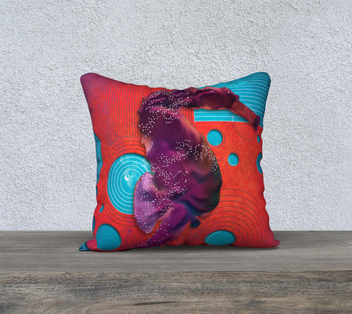 "Aperçu de Seahorse 18""x18"" Pillow Case #1"