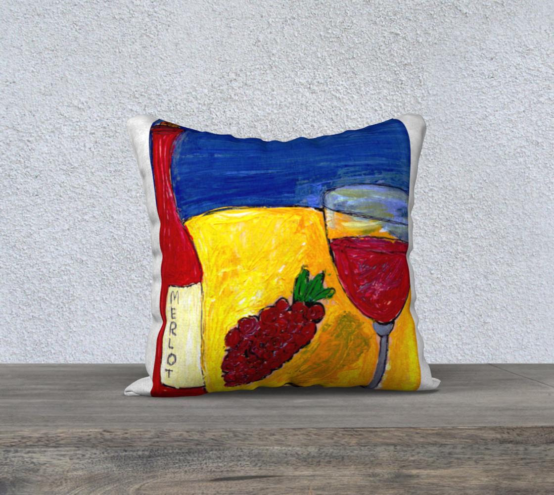 Merlot Pillow preview #1