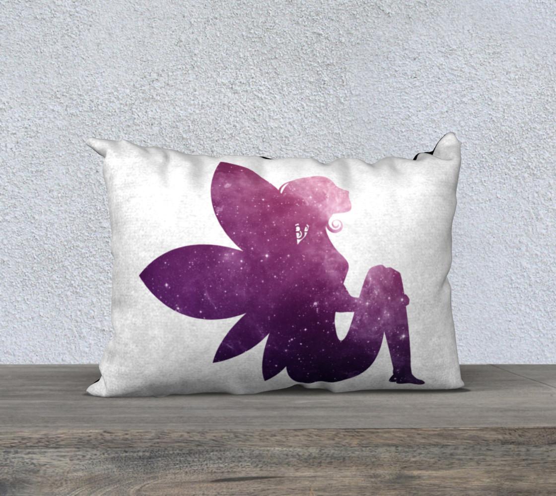 Purple Fairy 20 x 14 Pillow Case preview #1