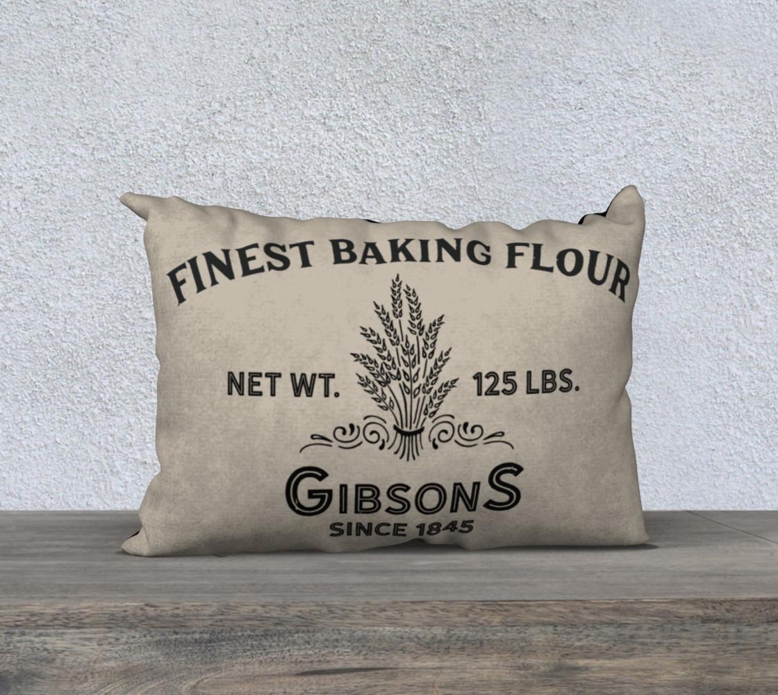 Vintage Flour-Horizontal Pillow preview #1