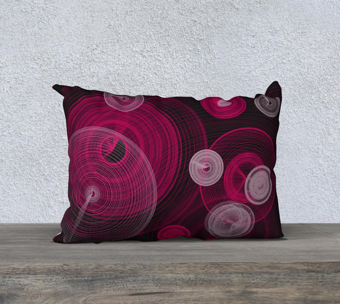 "Circles Pillow 20"" x 14"" preview #1"