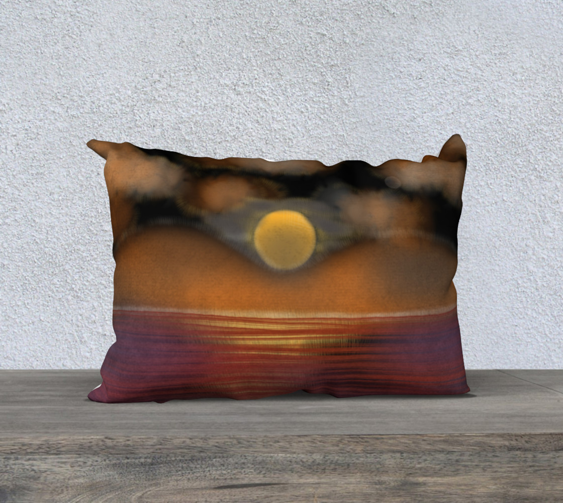 sunset pillow preview #1