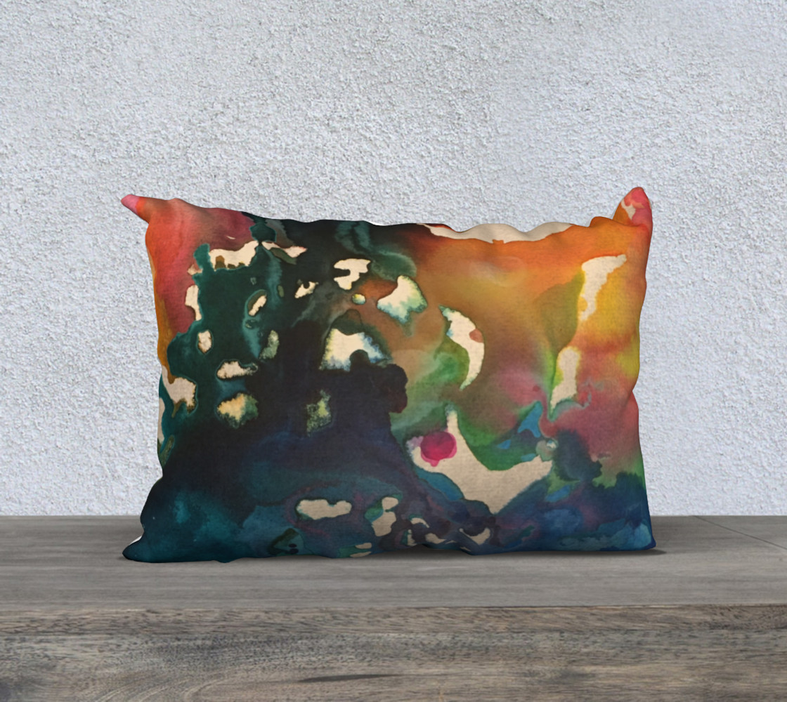 In Streams of Light Pillow M 3D preview