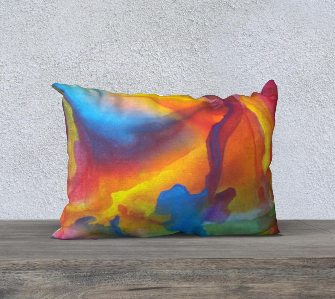 Summer Swirl Pillow preview #1