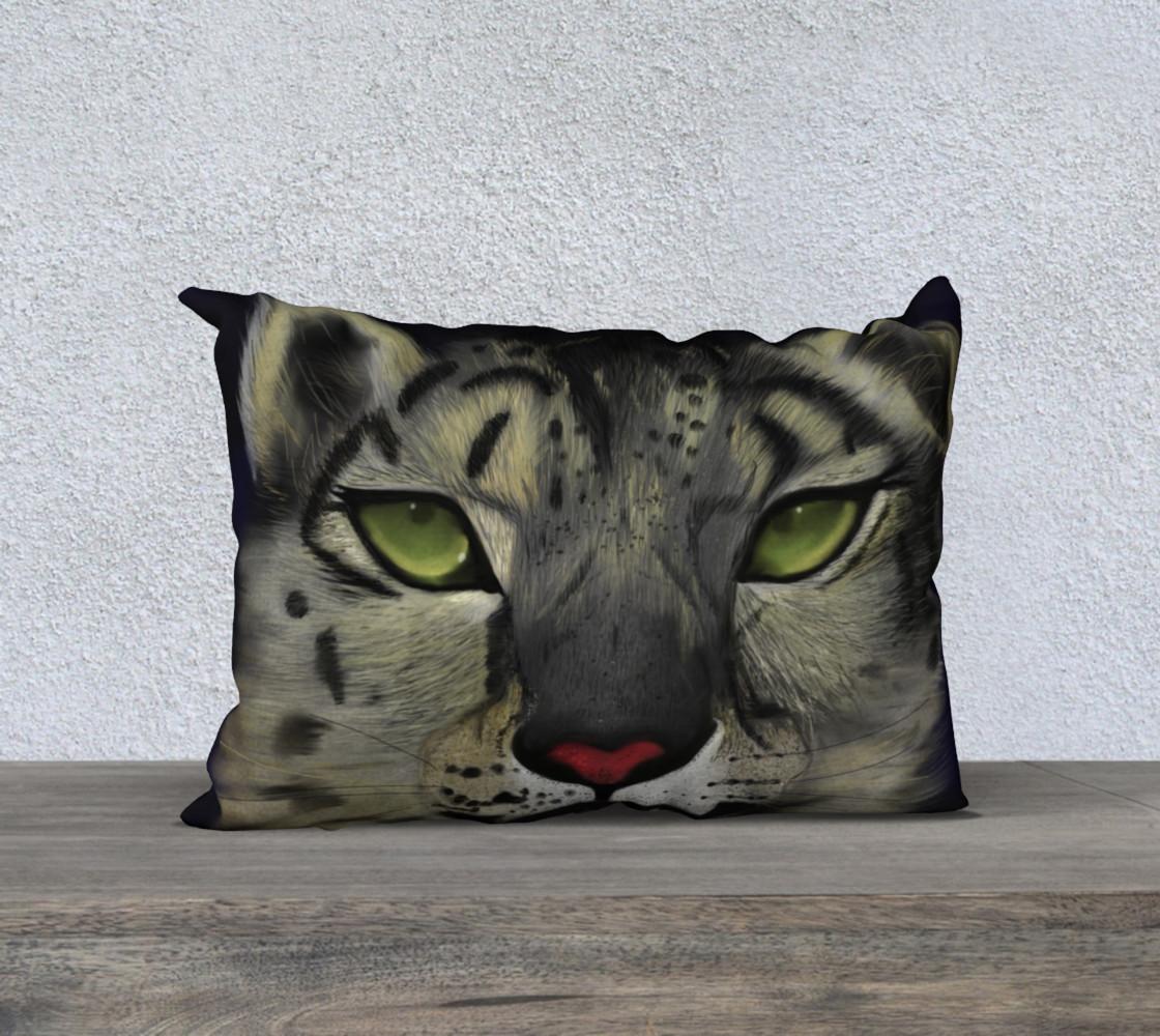 Snow Leopard Pillow  preview #1