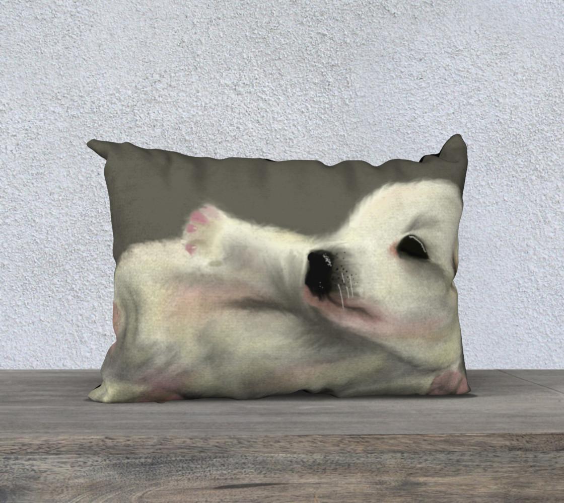 "Adorable Puppy Pillow Case 20"" x 14""  preview #1"