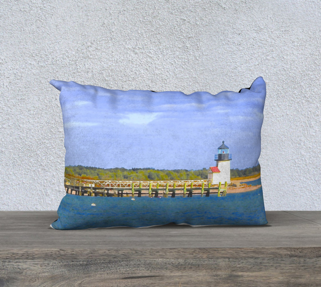nantucket pillow 3D preview