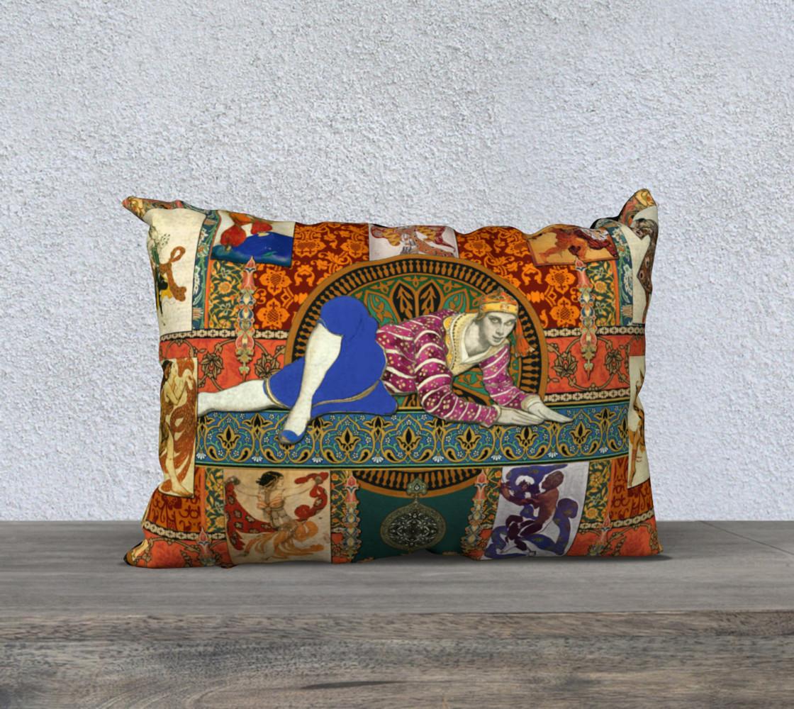 Aperçu de Ballets Russes Tapestry - 20x14 Pillow Case #1