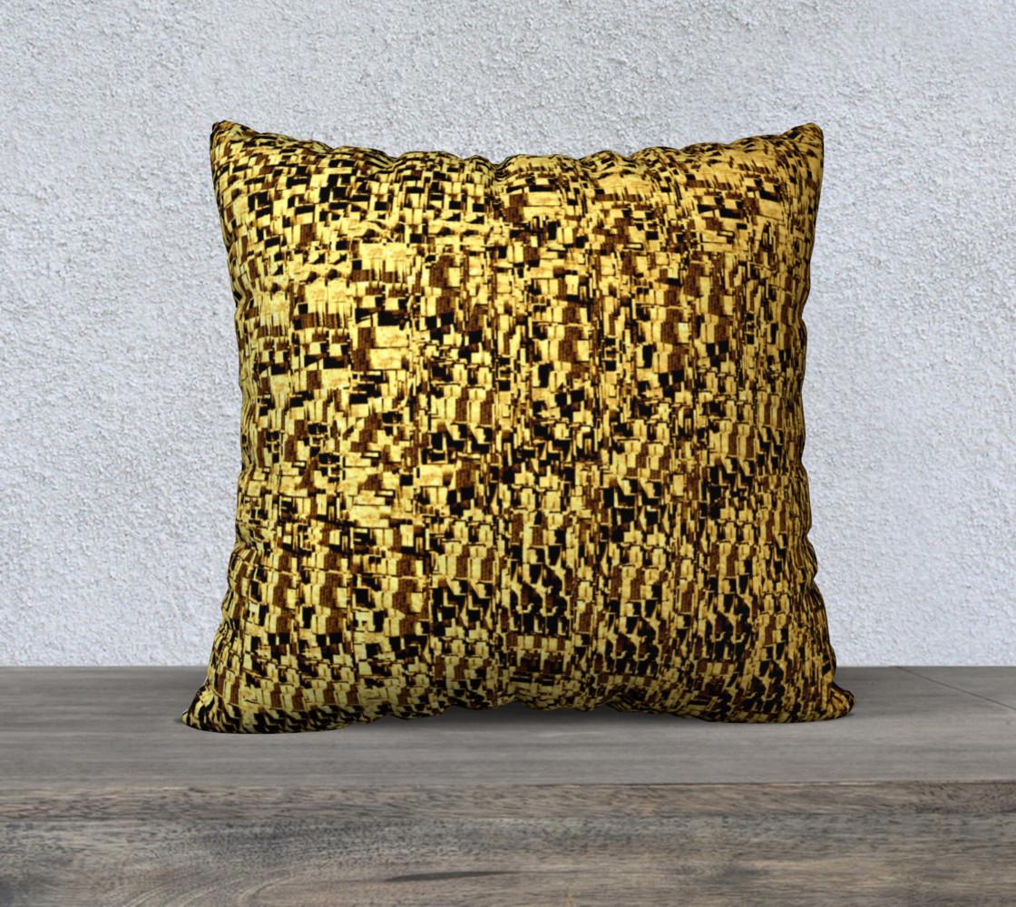 golden texture pillow preview #1