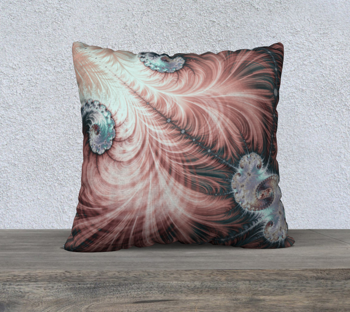 Cretaceous Crustacean Square Pillow 3D preview