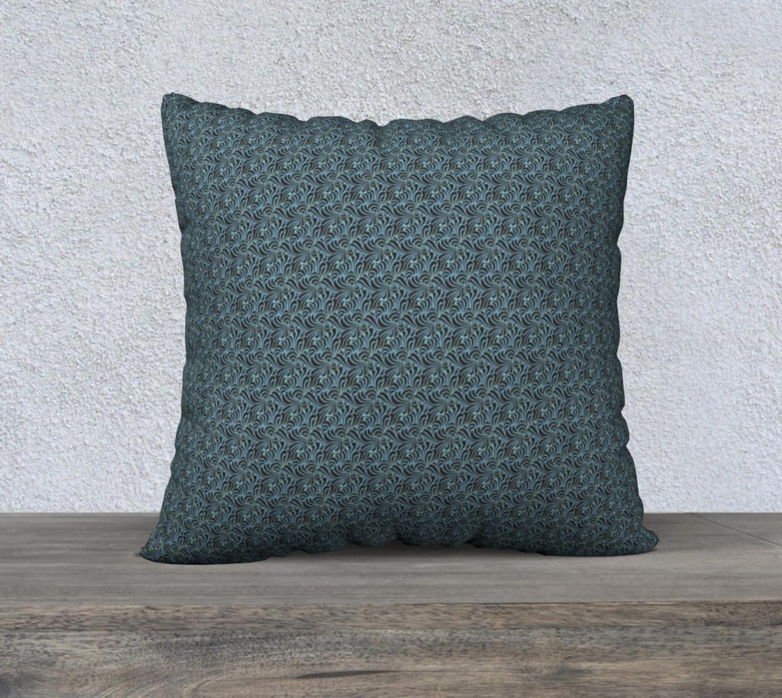 Aperçu de Confusion Setting In 22 x 22 Pillow Case #1
