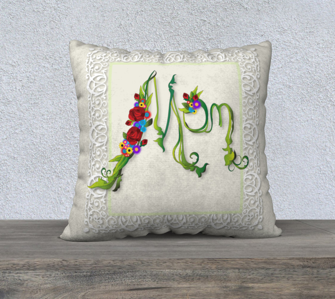 Mom - Mother's Day pillow preview #1