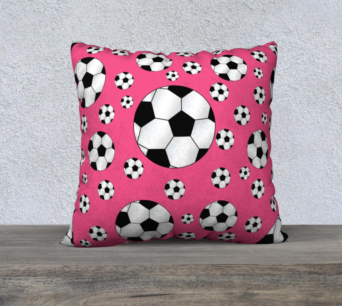 Pink soccer balls preview #1