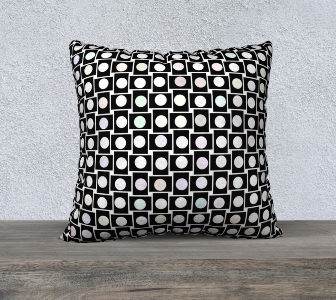 Mod Bod 22 x 22 Pillow Case preview #1