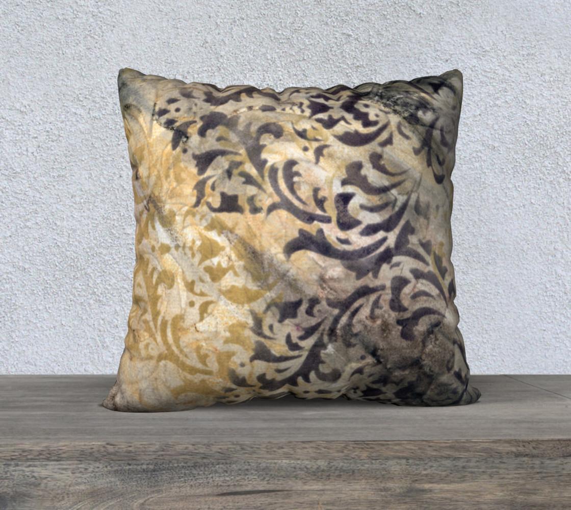 Aperçu de Gathering Natural Pillow Case 22sq #1
