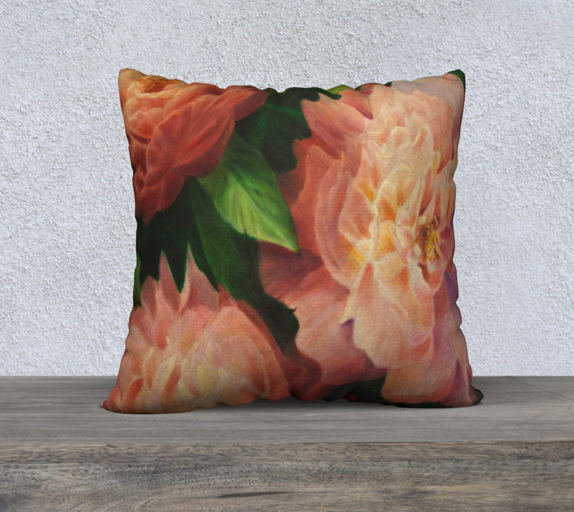 Spring Floral 22 X 22 Pillow Case preview #1