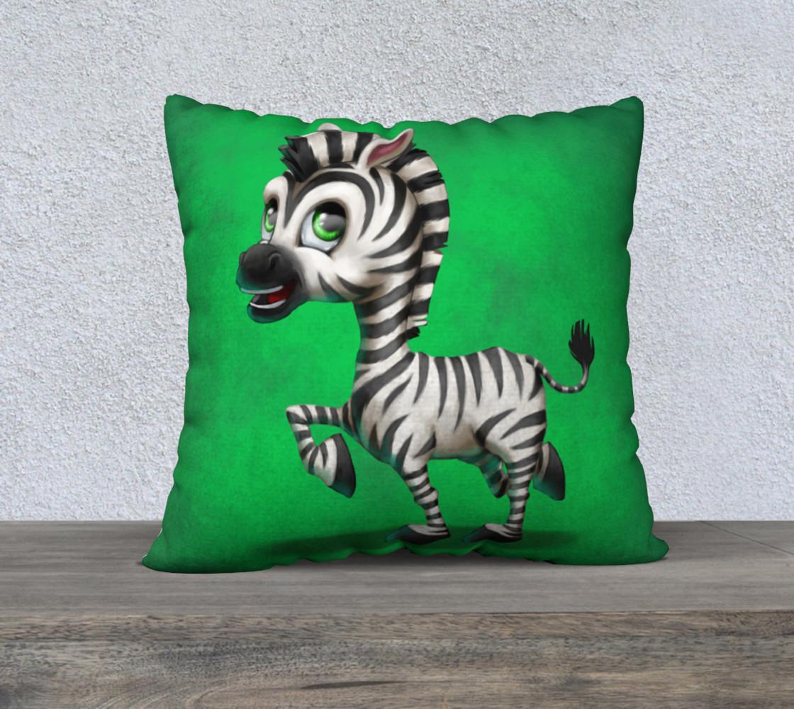 Aperçu de Zebra - Pillow #1