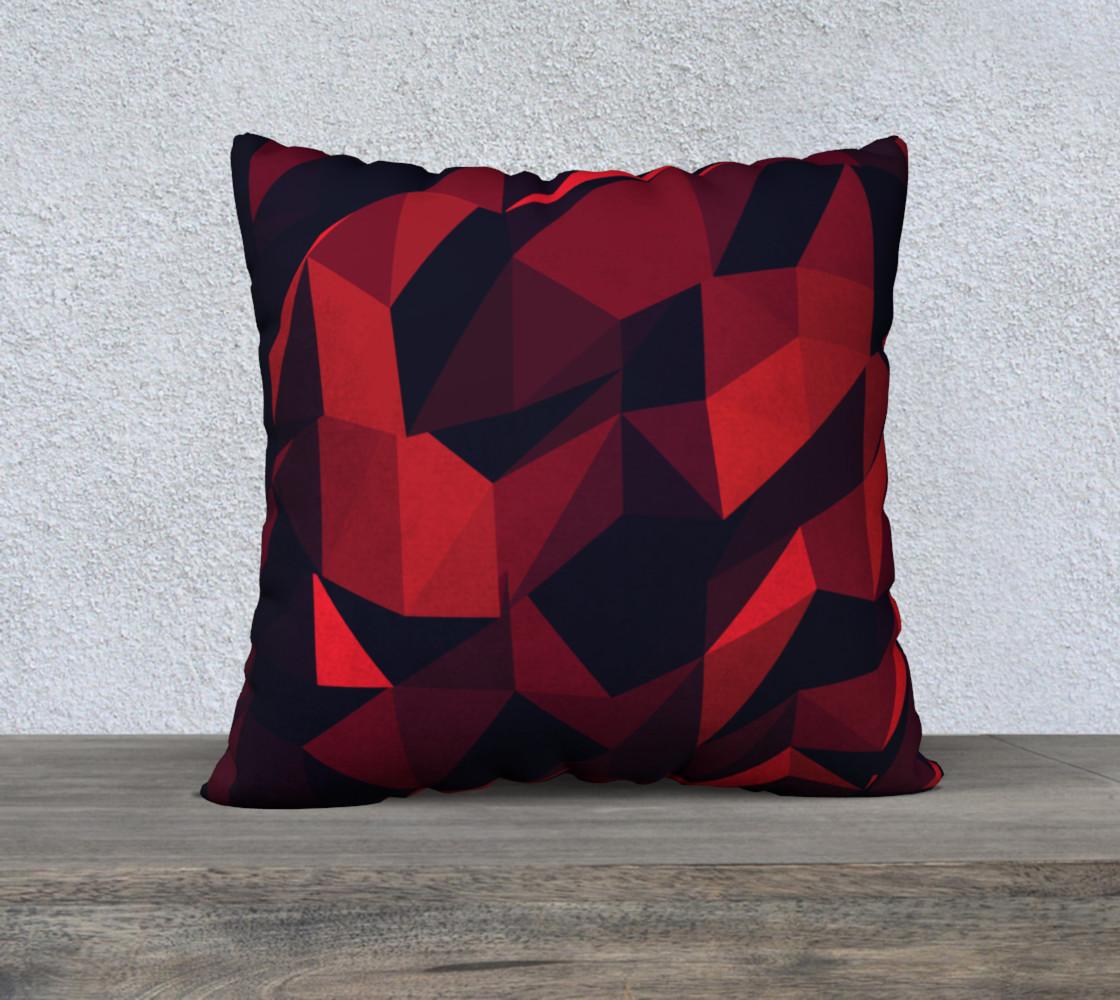 Aperçu de Red Geometric Pattern   #1