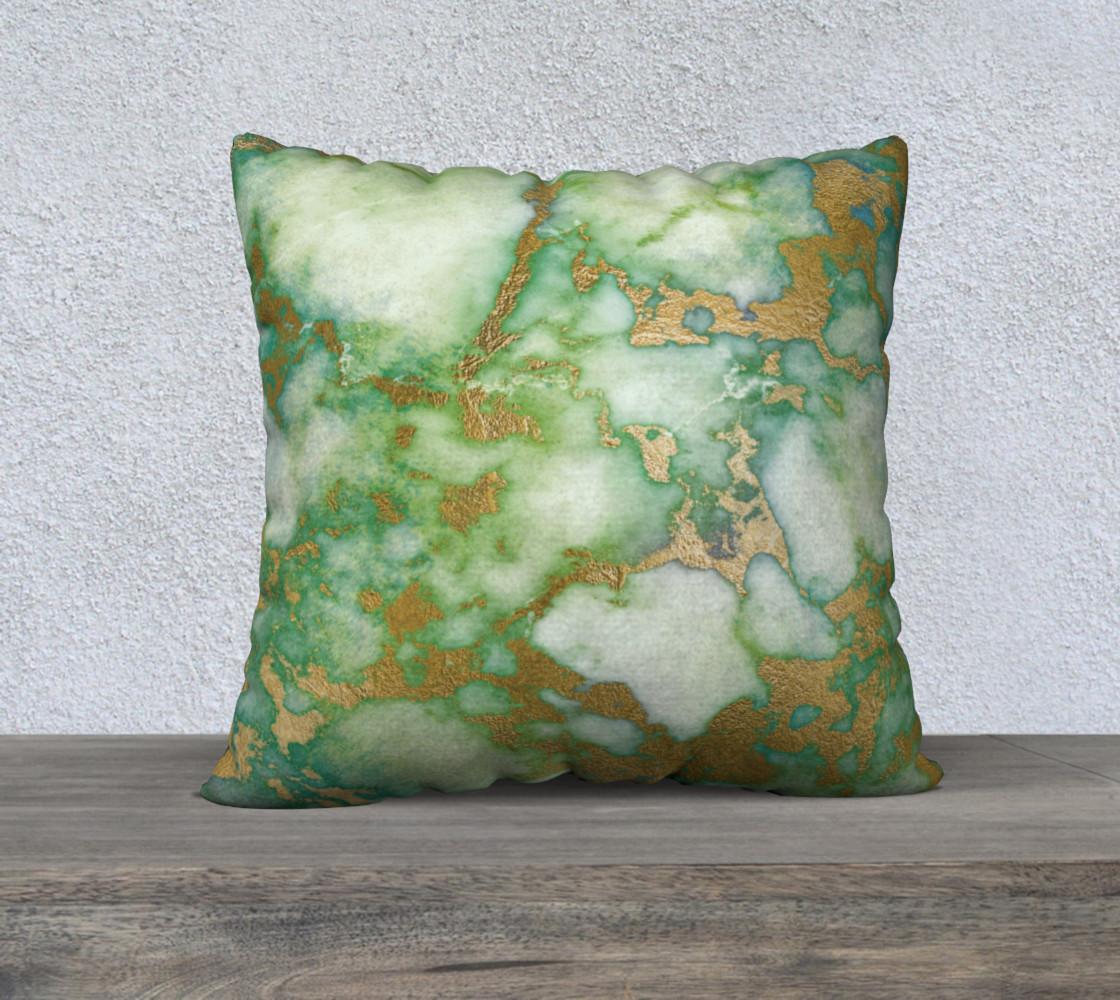 Aperçu de Green Gilded Marble  #1