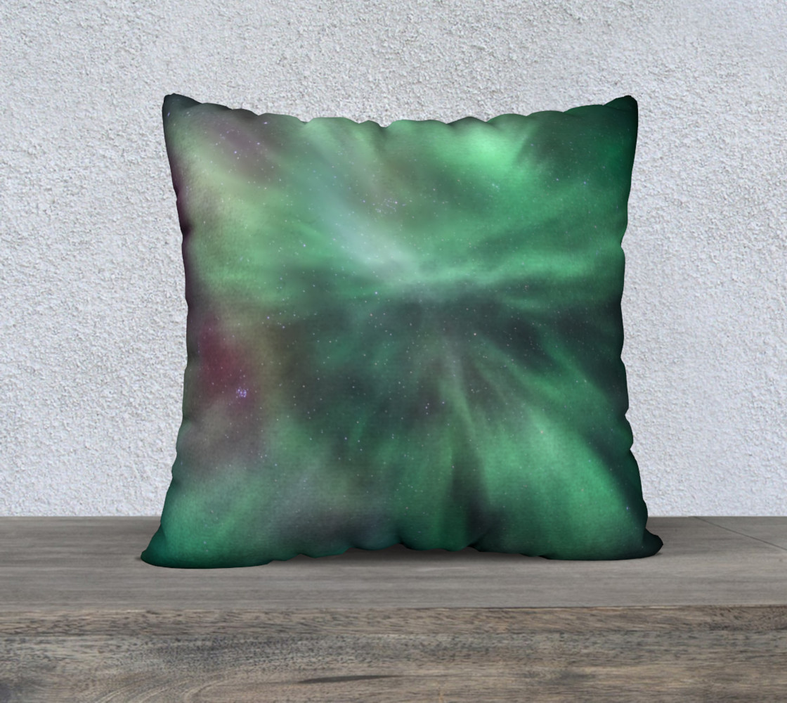 Auroral Burst Pillow Cover preview #1
