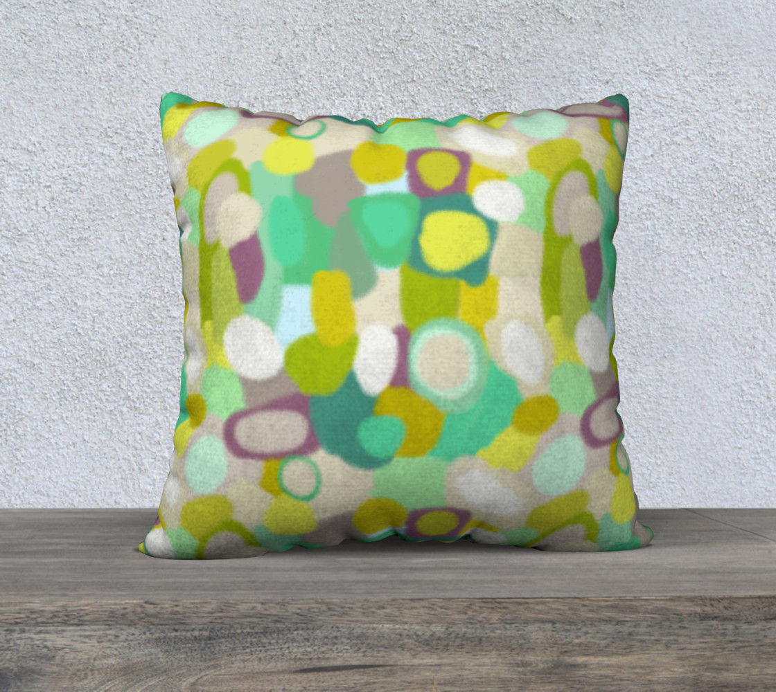Waterlily 22 inch Pillow preview #1