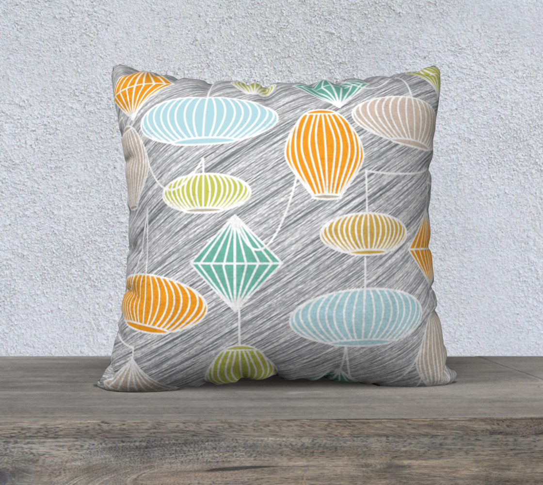 Mid Century Modern Lampshades preview #1
