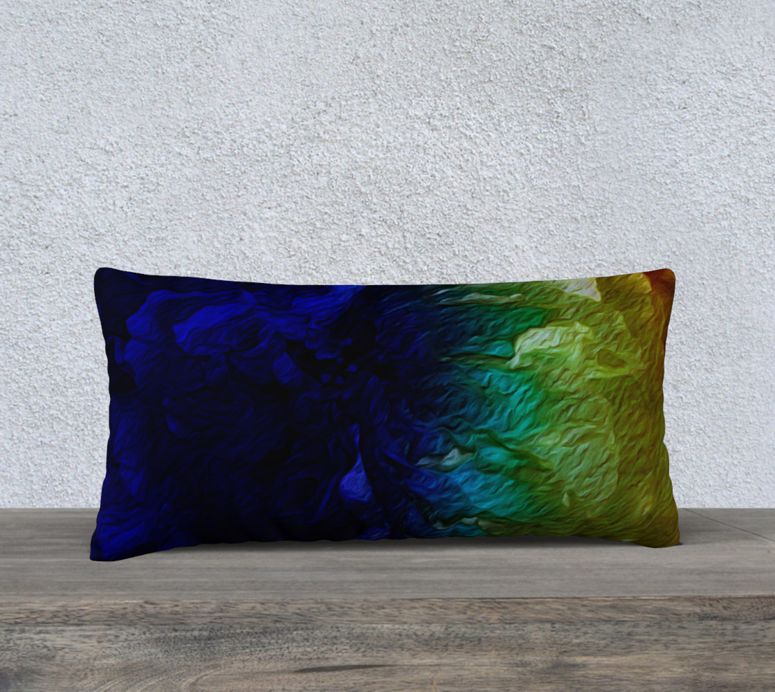 Aperçu de Finding Herself 24 x 12 Pillow Case #1