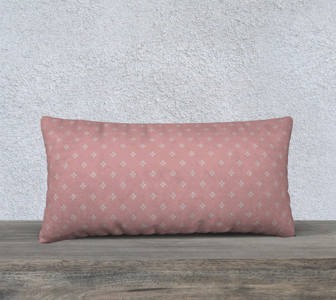 "24"" X 12"" BUBBLEGUM & HARBOR LIGHT SIGNATURE PILLOW CASE preview #1"