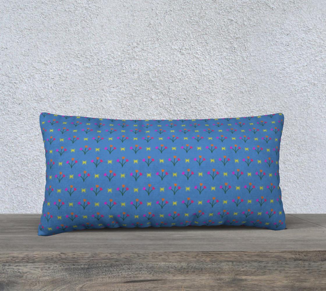 Flower Fields 24x12 Pillow Case preview #1