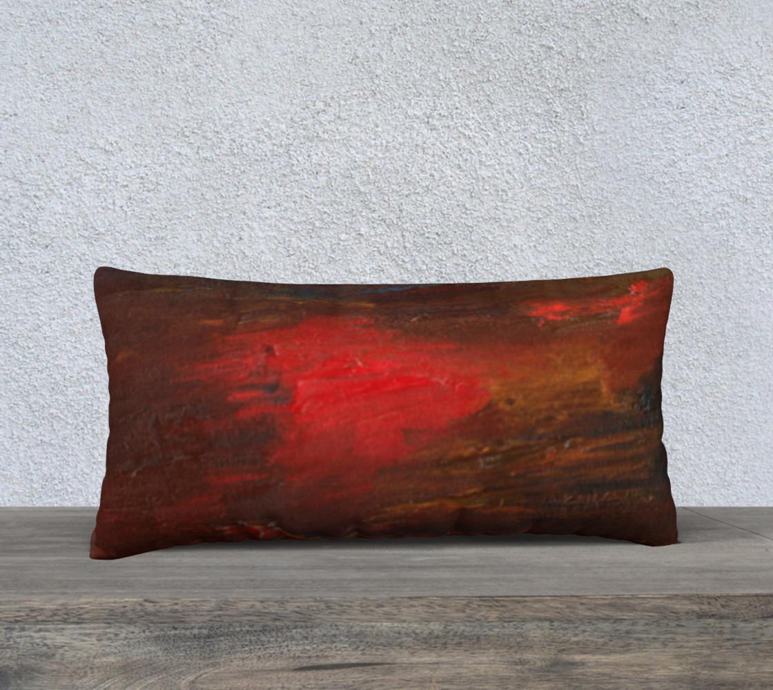 Crimson Ocean Pillow Case Style2 preview #1