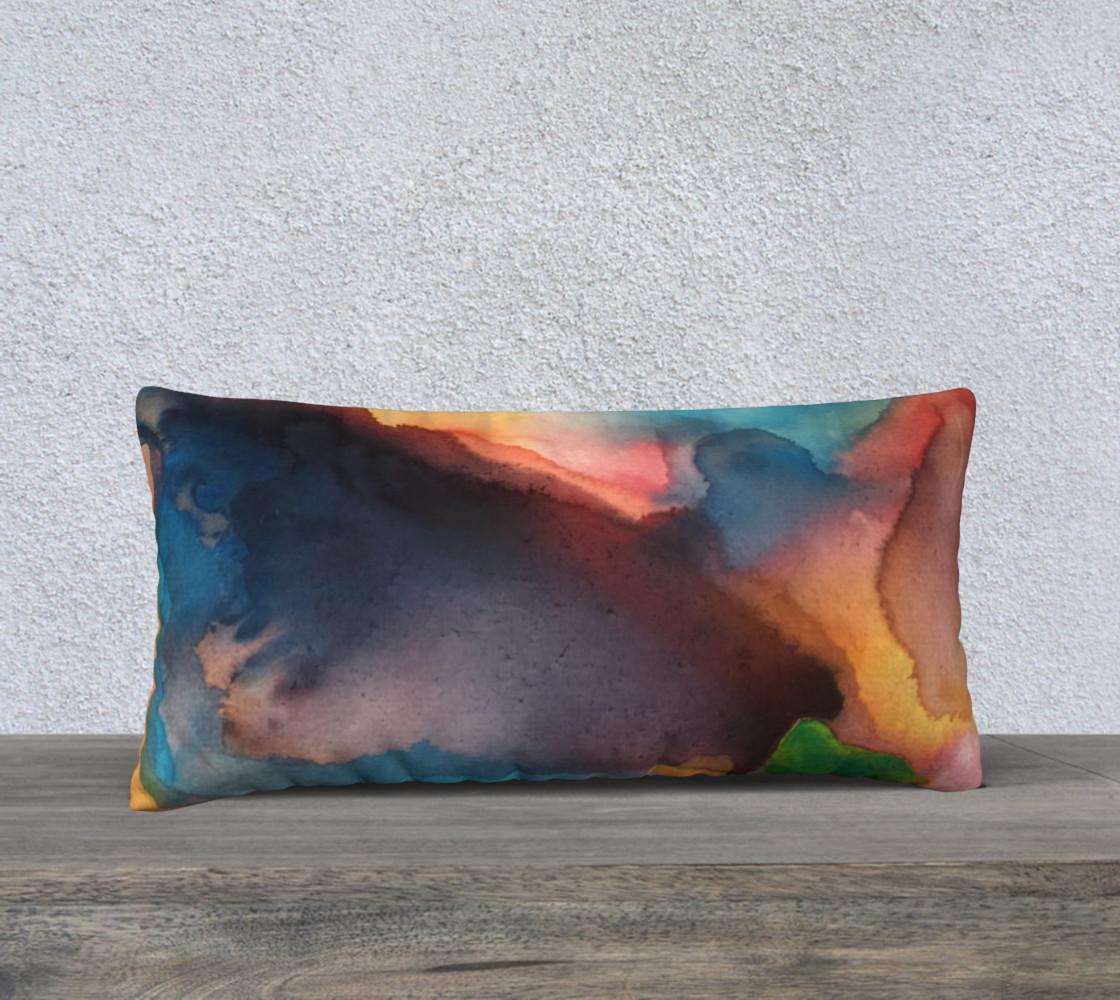 Green Beat Pillow preview #1