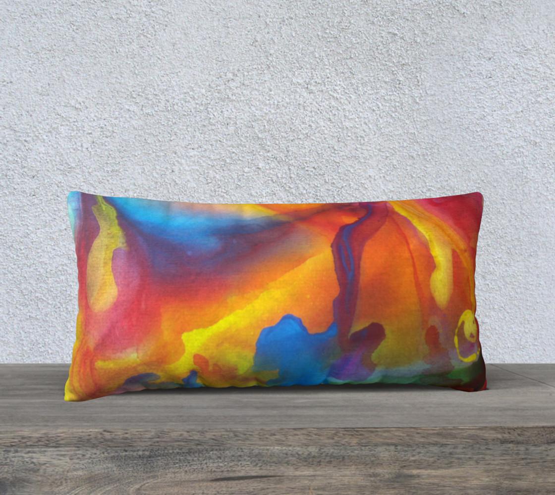 Summer Swirl Pillow Long preview #1