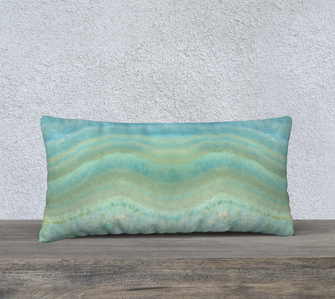 Turquoise Blue Agate Geode Pattern preview #1