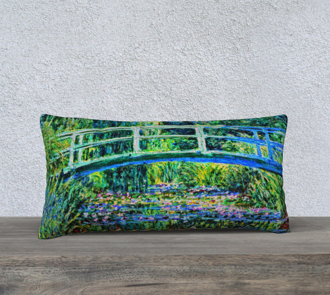 Monet - Water Lily Pond preview #1