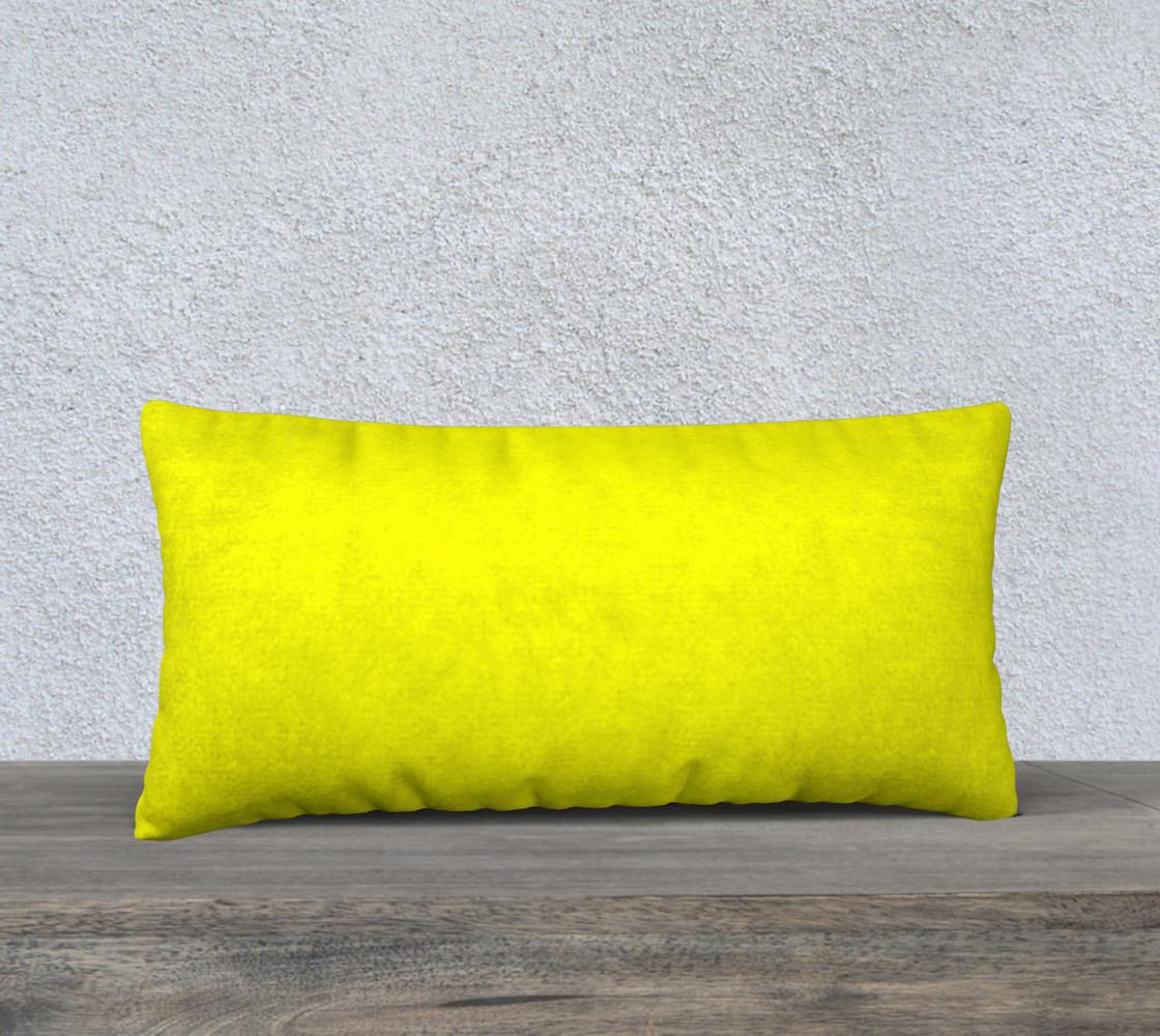 Aperçu de Bright Yellow Pillow Case #1