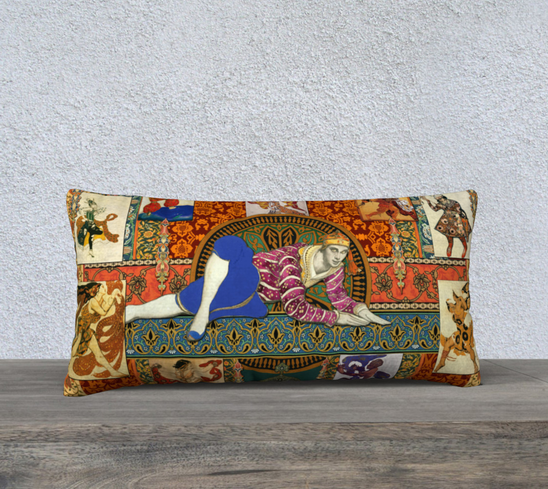 Aperçu de Ballets Russes Tapestry - 24x12 Pillow Case #1