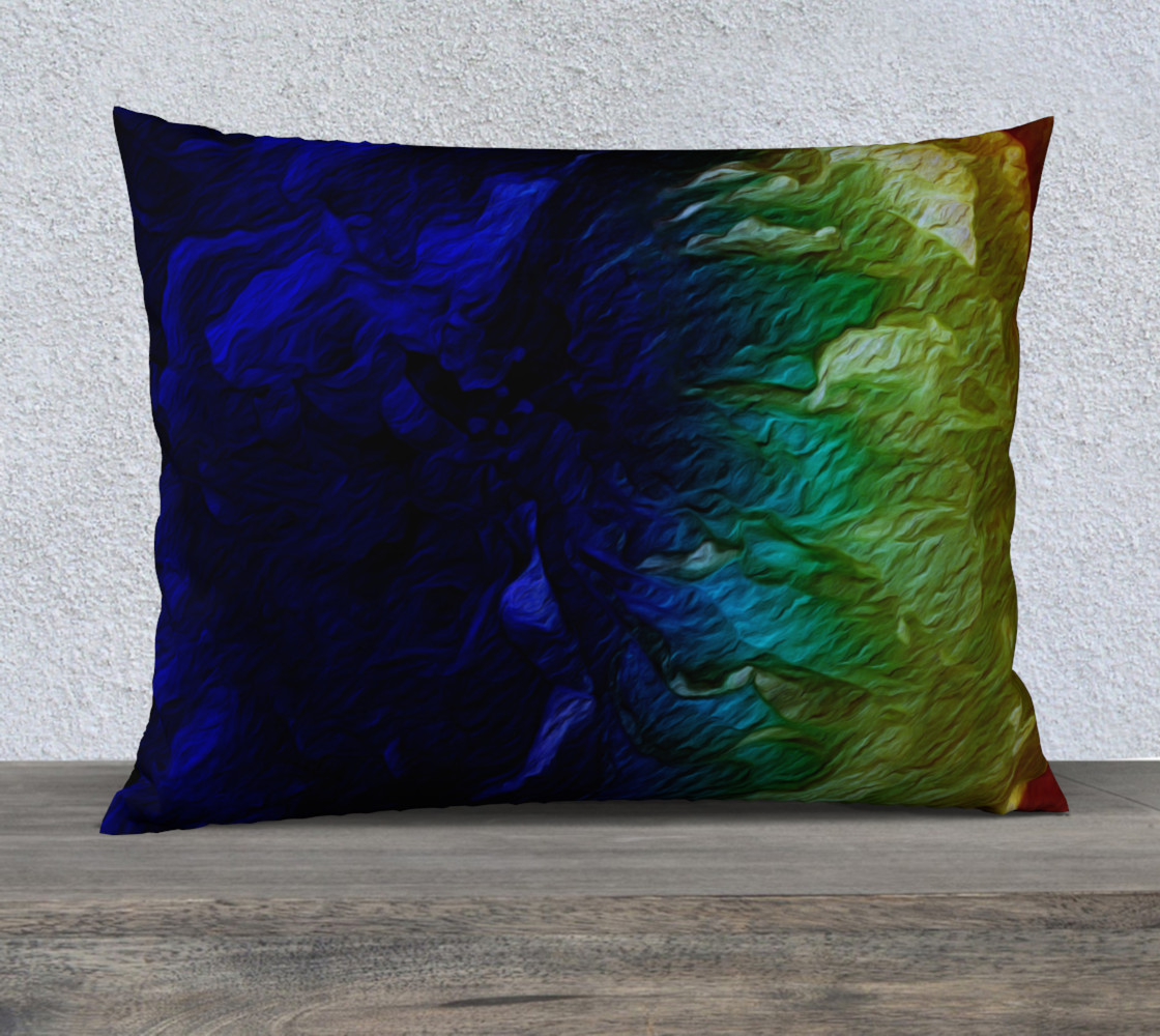 Aperçu 3D de Finding Herself 26 x 20 Pillow Case