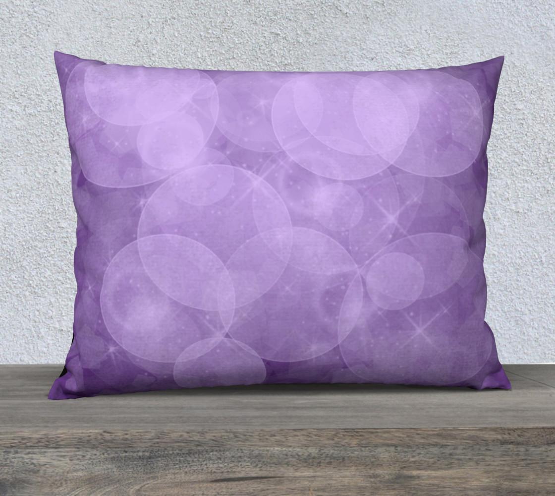 Purple Bubbles Pillow Case 26x20 preview #1