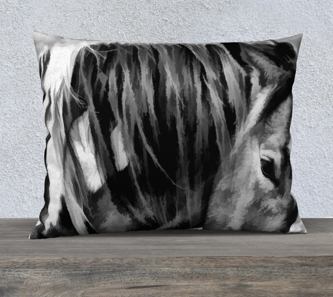 Aperçu de Horse black and White #1